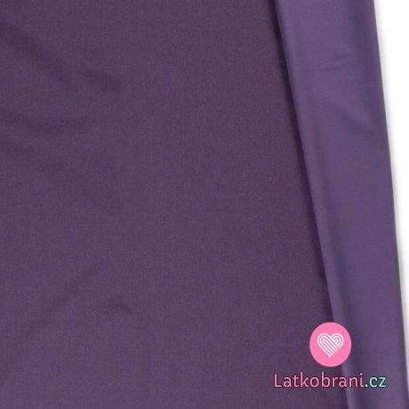 Softshell fialkový melange s fleecem
