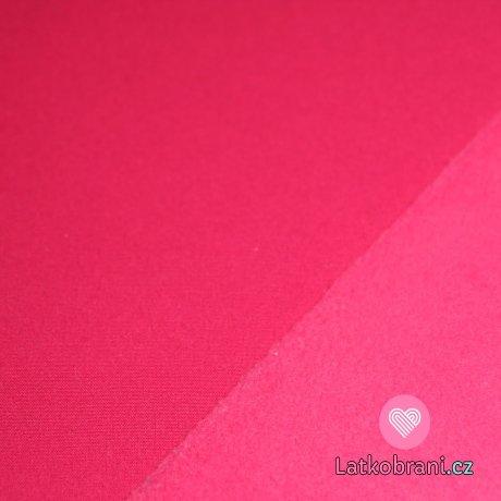 Softshell růžová fuchsie s fleecem 315g