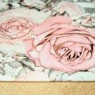 Teplákovina s růžemi na šedé romantický styl