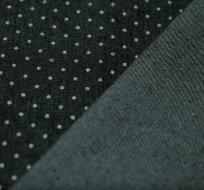 Jeans/Denim puntíky drobné na antracitové