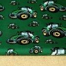 Softshell traktor na zelené s fleecem