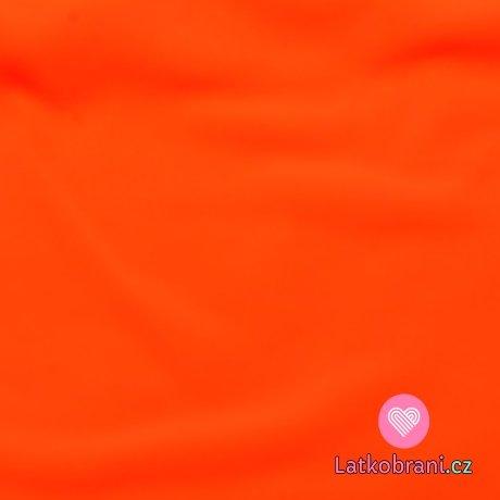 Softshell zimní neon oranžový