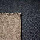 Teplákovina počesaná vzhled džínovina