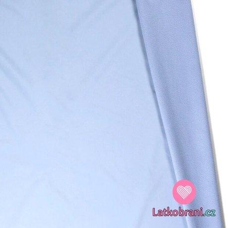 Softshell baby modrá s fleecem