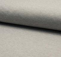 Jednobarevná teplákovina šedé melé světlejší