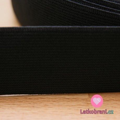 Pruženka plochá černá 40 mm