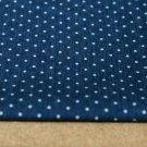 Jeans/Denim puntíky na modré drobné
