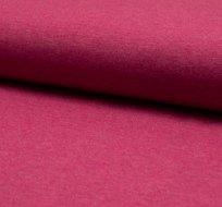 Jednobarevný úplet červeno-bordó melange