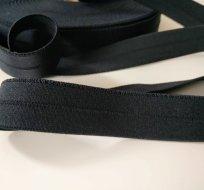 Pruženka černá půlená 25 mm
