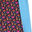 Softshell barevná zvířátka ze zoo na modrém podkladu