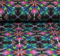 Úplet digitisk rozmanitý mozaikový květ