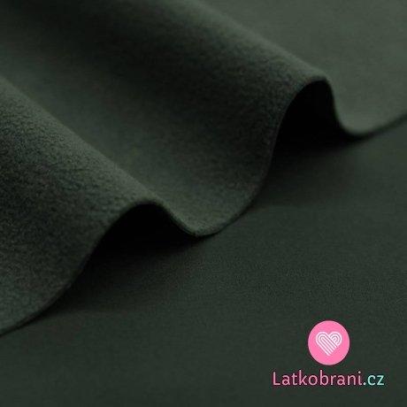 Softshell zimní strečový tmavá oliva