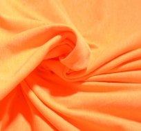 Úplet jednobarevný neon oranžový melé