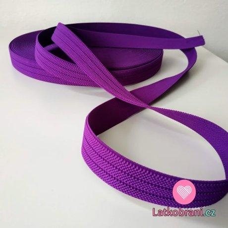 Pruženka barevná fialová 25 mm