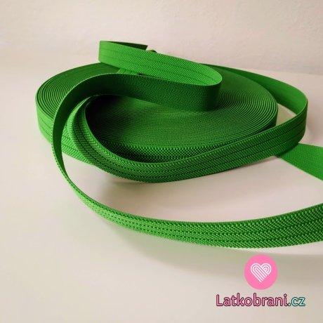 Pruženka barevná zelená 25 mm opasková