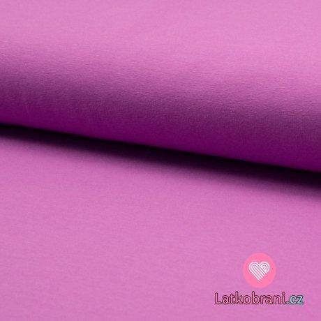 Jednobarevný úplet fialový