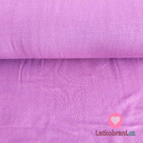 Úplet modal jednobarevný fialkový lila
