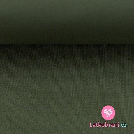 Softshell olivově zelený s fleecem