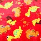 Wellsoft dinosauři na červené -ZBYTEK