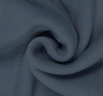 Polar fleece šedo-modrý jeansový antipilling
