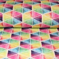 Úplet akvarelové trojúhelníčky