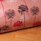 Softshell květy na dlouhém stonku na starorůžové