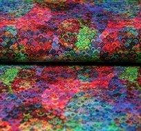 Úplet duhové dvojbarevné šupinky