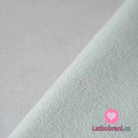 Softshell strečový světle šedý s fleecem