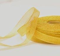 Stuha lurexová zlatá