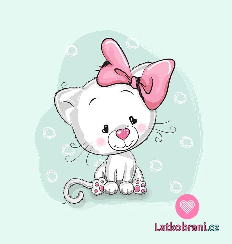pěkné růžové kočička fotky