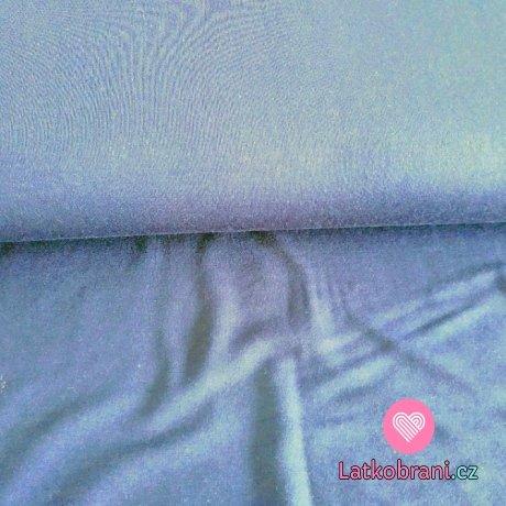 Úplet modal jednobarevný modrý