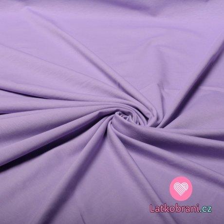 Bavlněný úplet fialka 180 g