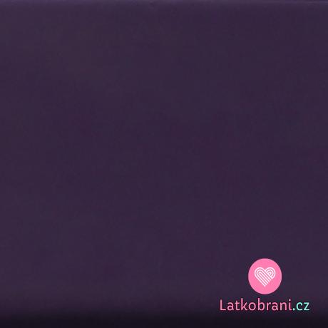 Šusťák jednobarevný tmavě fialový