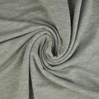 Jednobarevná teplákovina šedé melé
