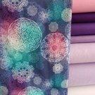 Mandala na fialové