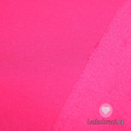 Softshell růžová sytější