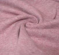 Teplákovina barevná příze bordovo-hnědá melé