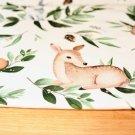 Teplákovina srnečka s veverkou na smetanové