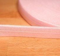 Šikmý proužek / lemovací pruženka růžová světlá
