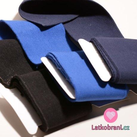 Náplet kusový černý jednobarevný 135 cm