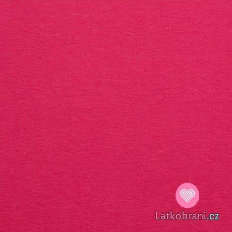 Úplet jednobarevný fuchsiově růžový 200 g.