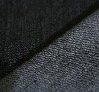 Denim stretch jeansovina černá