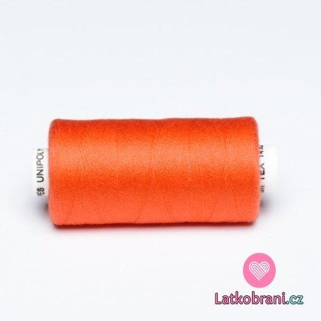 Nitě hagal - oranžová sytá 500 m (14x2)