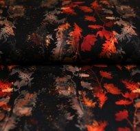 Úplet digitisk podzimní kouzlo oranžové listí