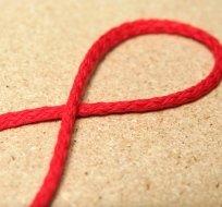 Šňůra kulatá oděvní bavlna 4 mm červená