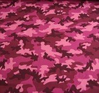 Úplet maskáč růžový