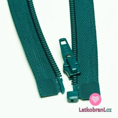 Zip spirálový dělitelný petrolejový 35cm