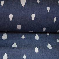 Softshell kapky na jeansové