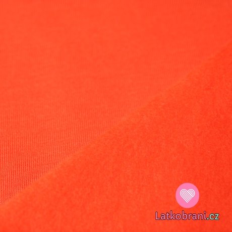 Warmkeeper oranžová (alpenfleece)