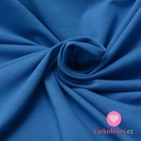 Úplet jednobarevný tlumená modrá 160 g